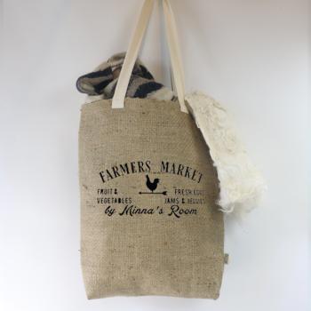 Farmer's Market Tasche aus Jute