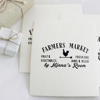 Farmer's market Schwammtücher Set