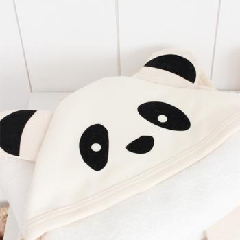 Panda Kapuzenhandtuch